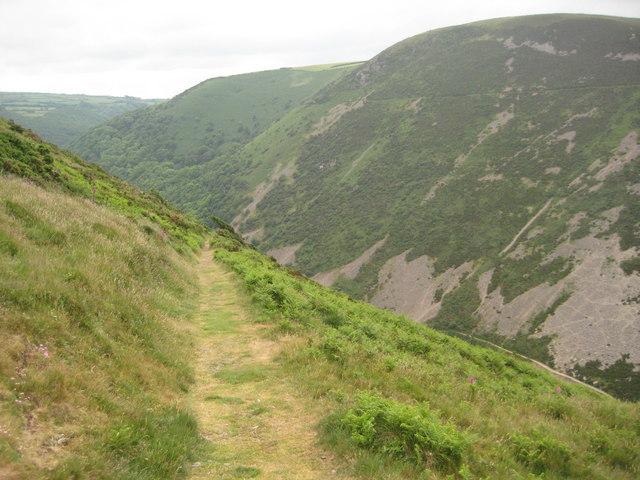 Descending into Heddon's Valley - geograph.org.uk - 1603963