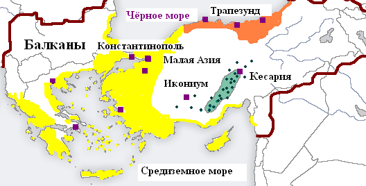 Файл:Distribution of Greek dialects in late Byzantine Empire ru.png