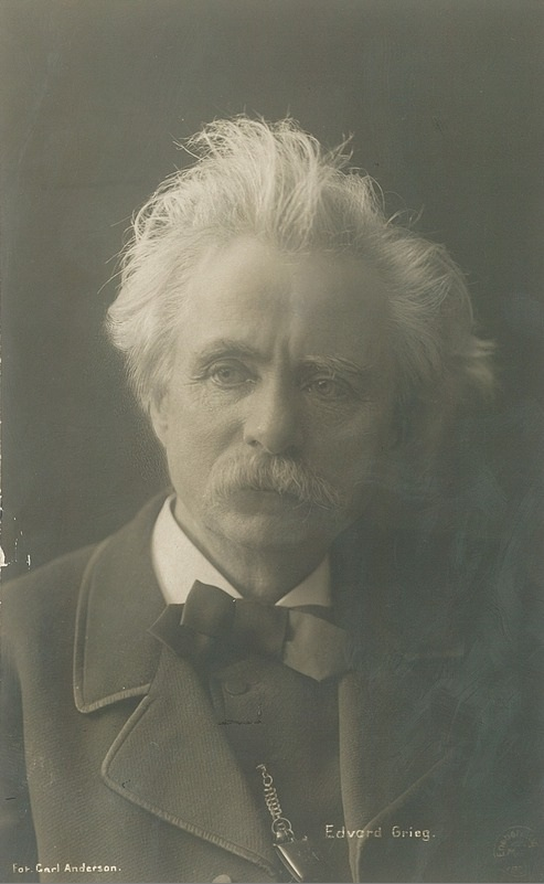 Edvard Grieg by Karl Anderson TM.T01607