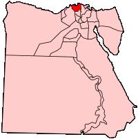 カフル・エル-シェイク県の県域