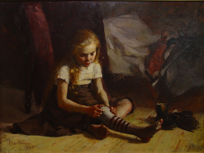 Elin Danielson-Gambogi - Köyhä tyttö (1885).jpg