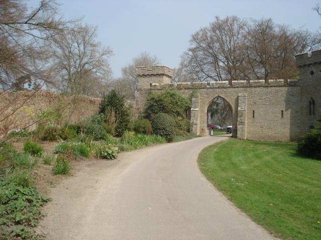 Entrance to Croft Castle - geograph.org.uk - 454224