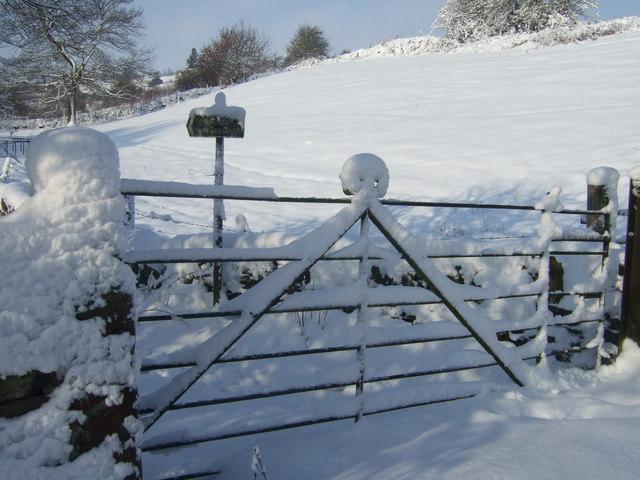 Entrance to Merrydale Clough, Slaithwaite - geograph.org.uk - 1544762