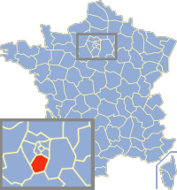 Communes of the Essonne department Wikimedia list article