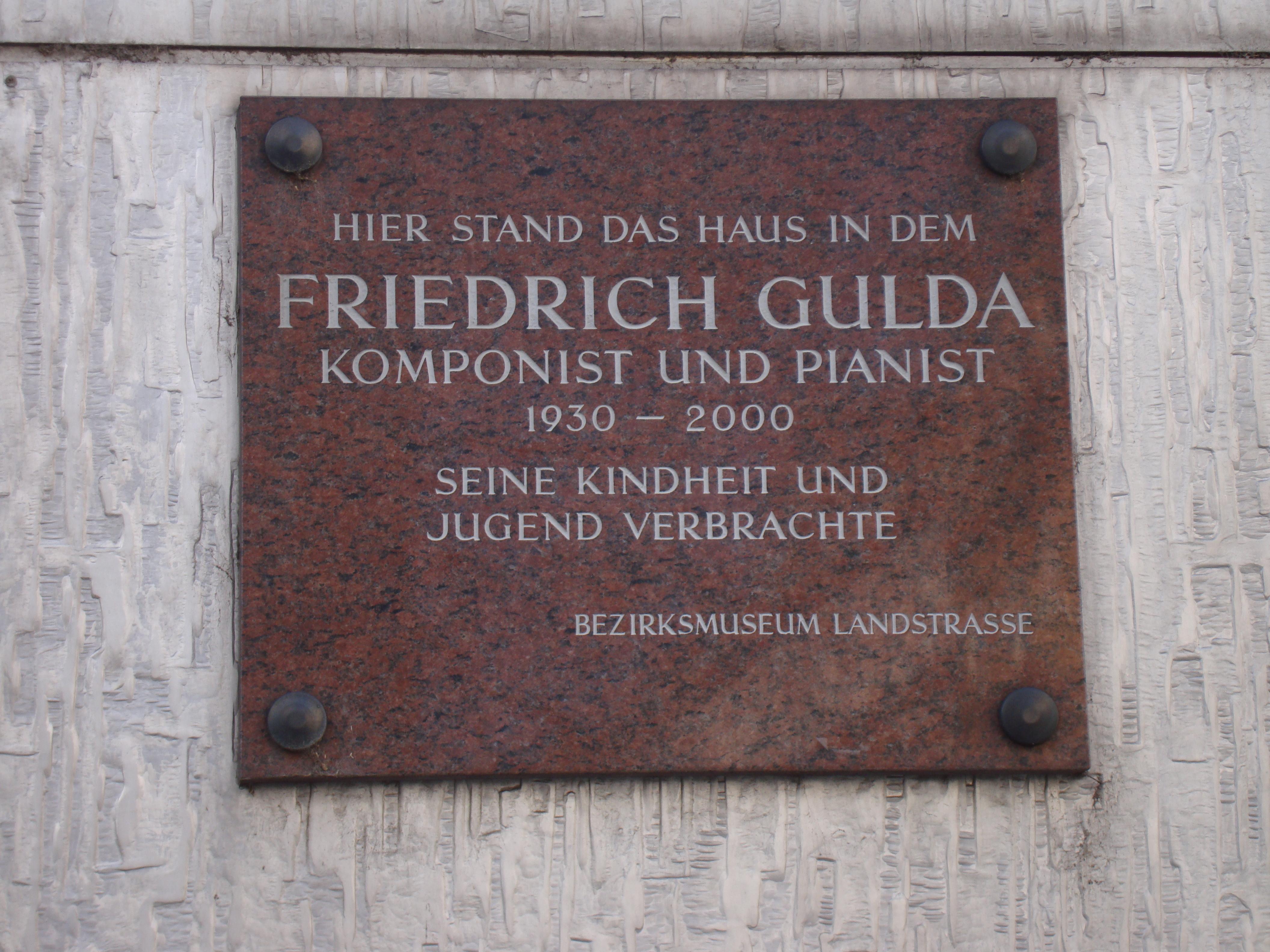 FGulda birthplace Vienna.JPG