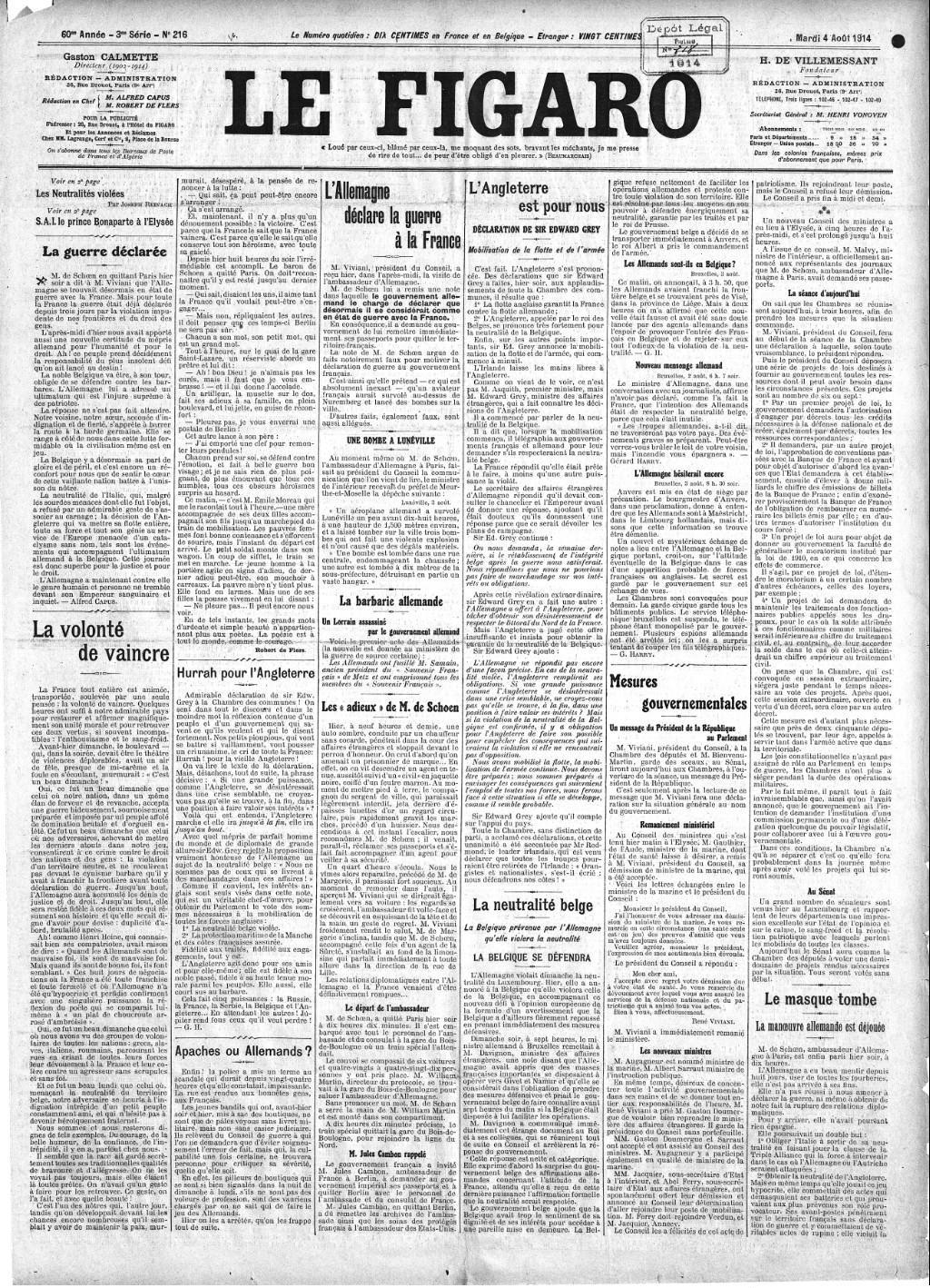 Le figaro wikip dia - Le journal de francois ...