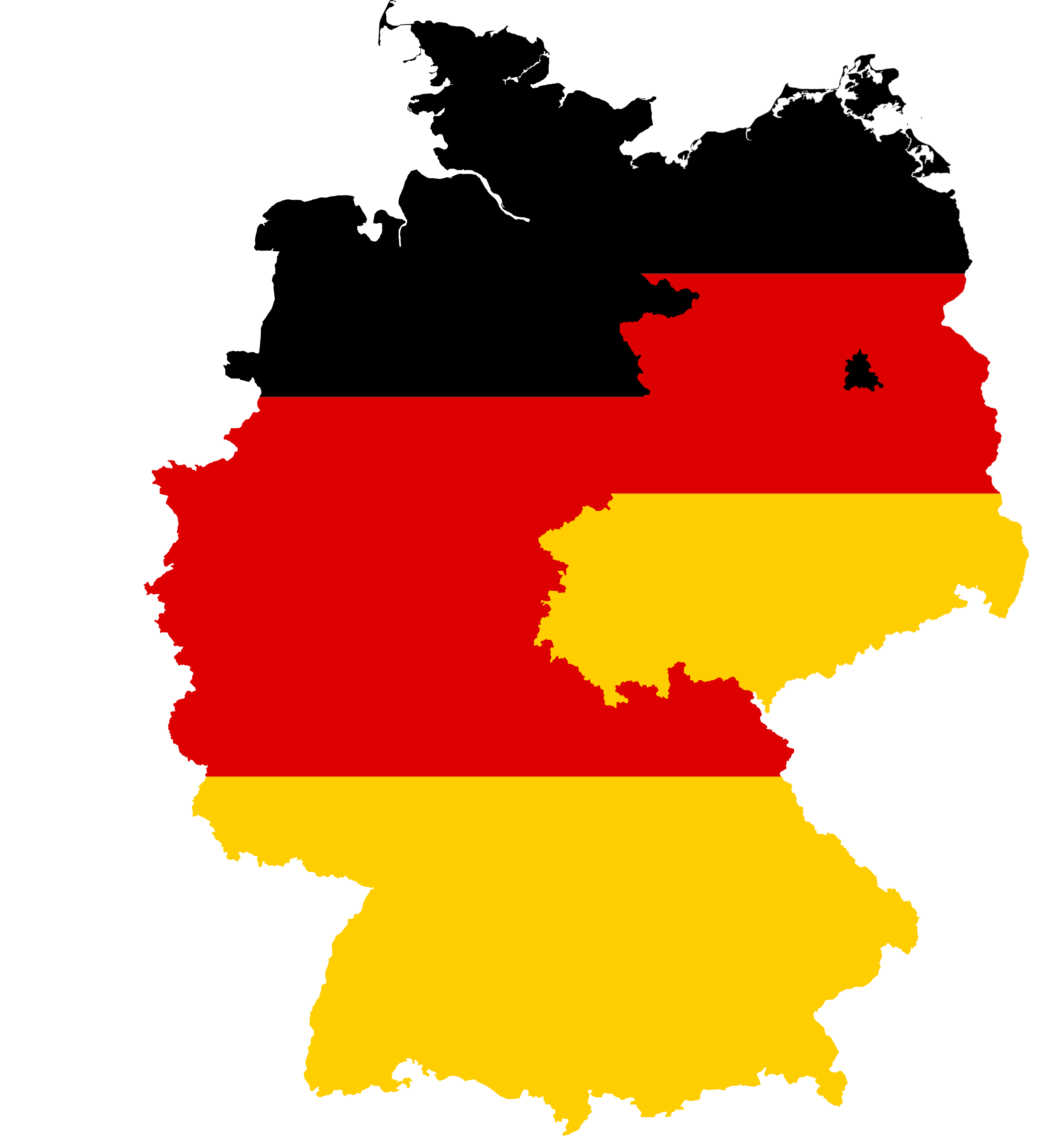File Flag Map Of West East Germany 1949 1959 Png Wikimedia Commons