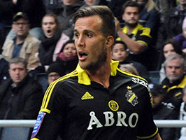 Fredrik Brustad Norwegian football forward