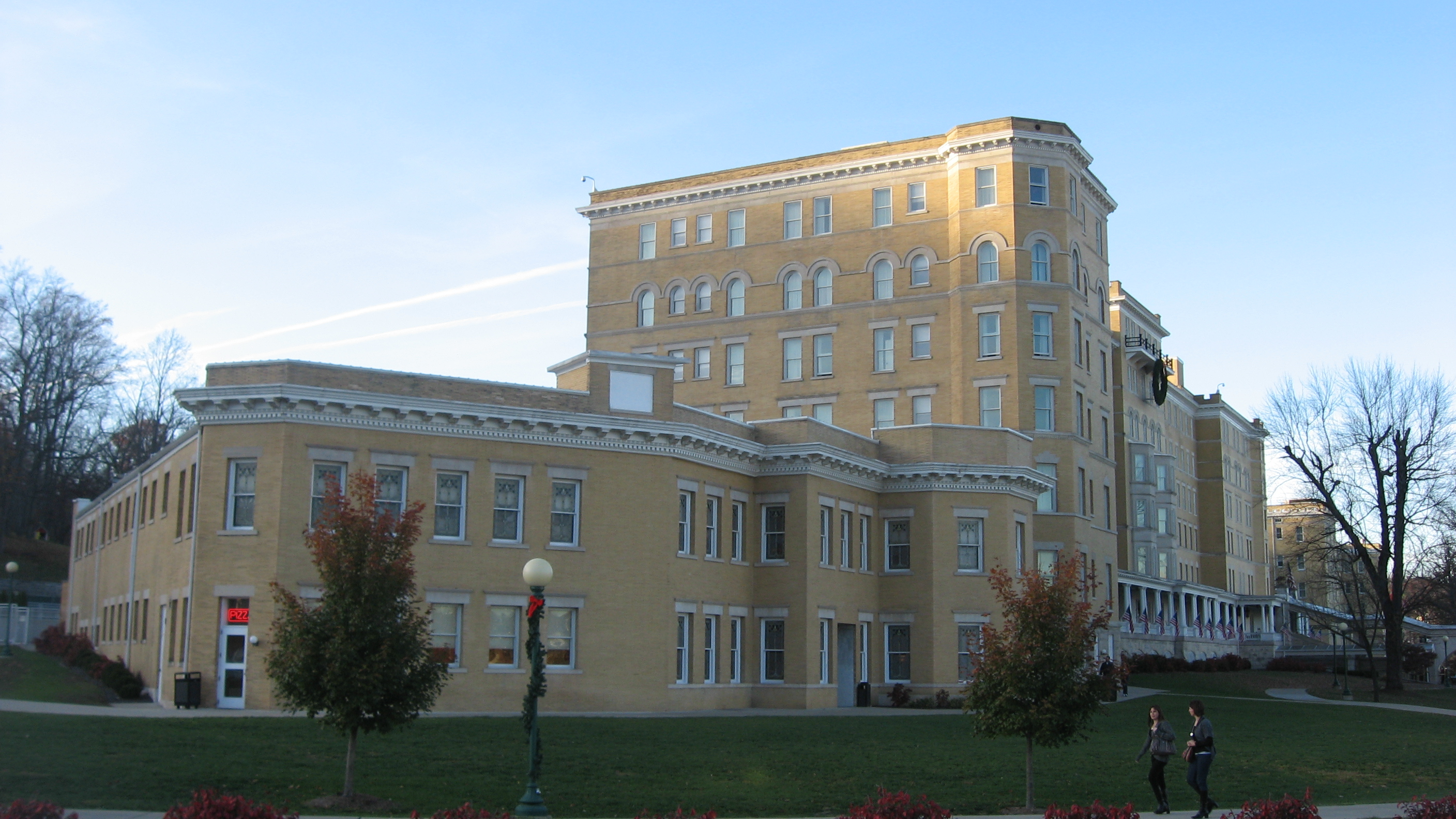Did french lick resort ghosts think