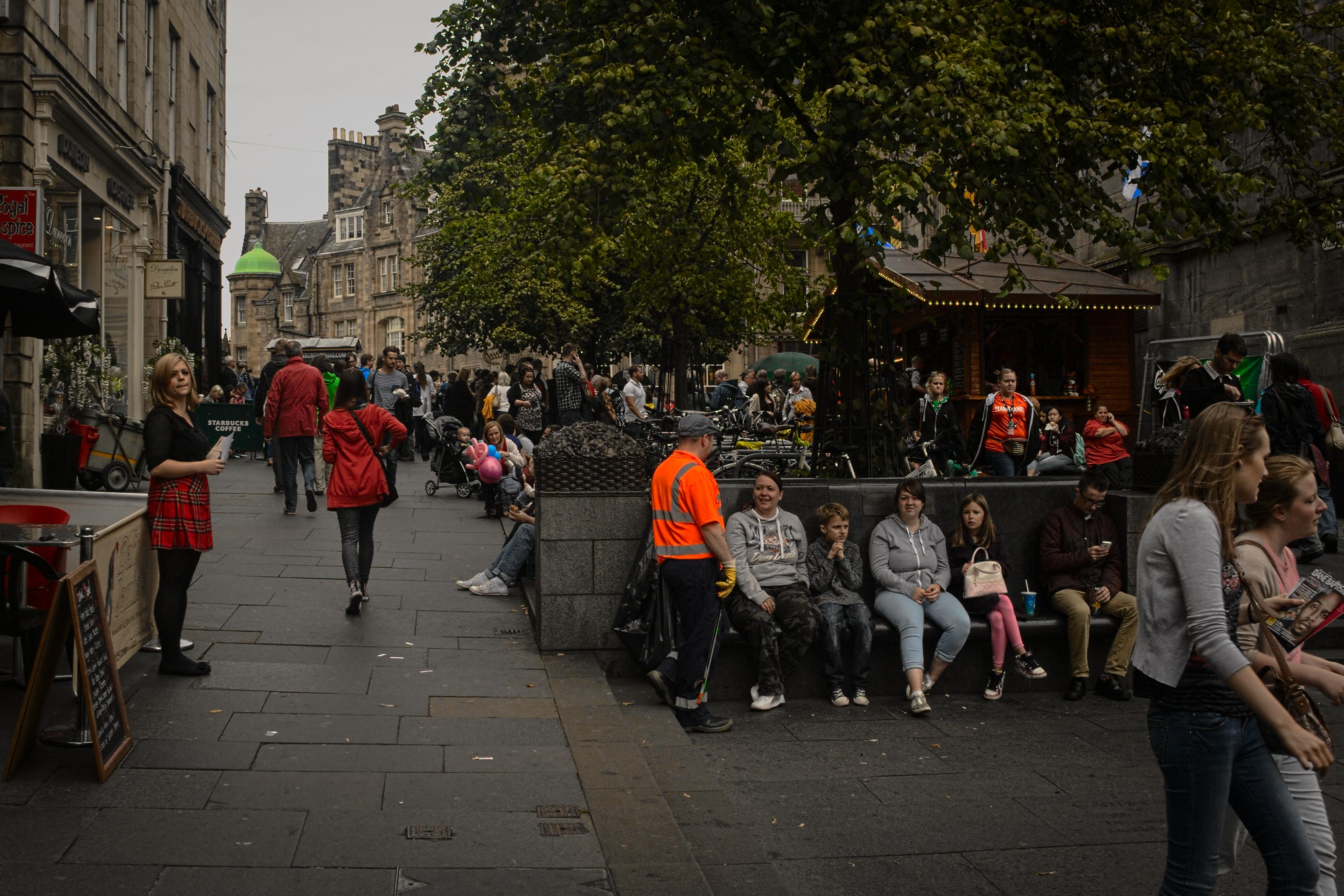 Edinburgh Fringe Street Food