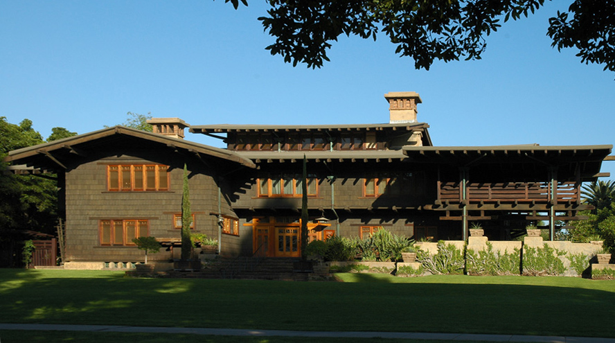 Gamble house pasadena california wikipedia for Craftsman style architects