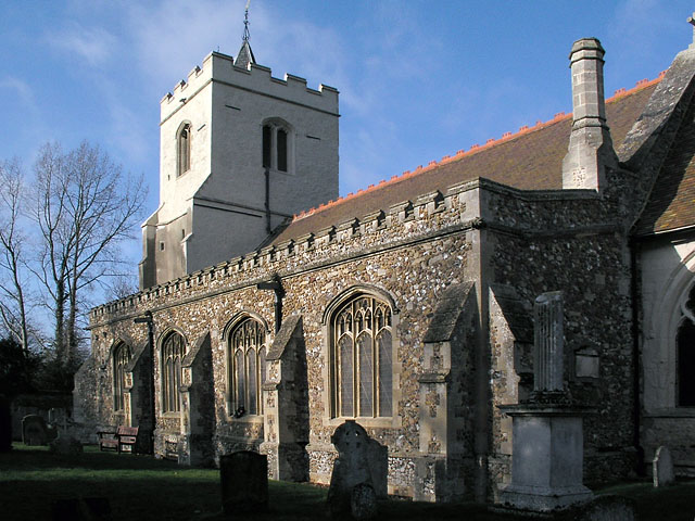 Grantchester church - geograph.org.uk - 2810