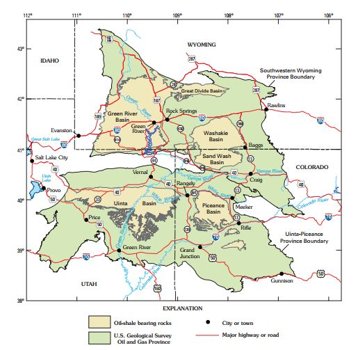FileGreen River Fmn Oil Shale Mapjpg Wikimedia Commons - Us oil shale map