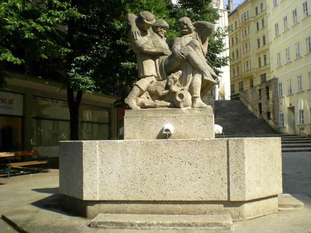 GuentherZ 2009-07-01 1148 Wien01 Hannakenbrunnen total.jpg