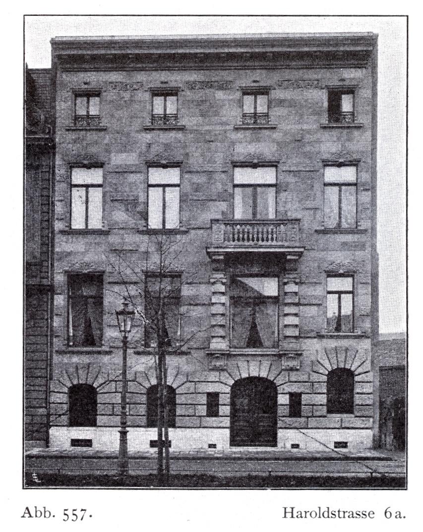 file haus haroldstra e 6a in d sseldorf erbaut vor 1904. Black Bedroom Furniture Sets. Home Design Ideas