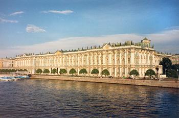 esterno dell'Heritage Museum in San Pietroburgo