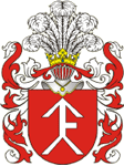 Pilsudski coat of arms Herb Pilsudski.PNG
