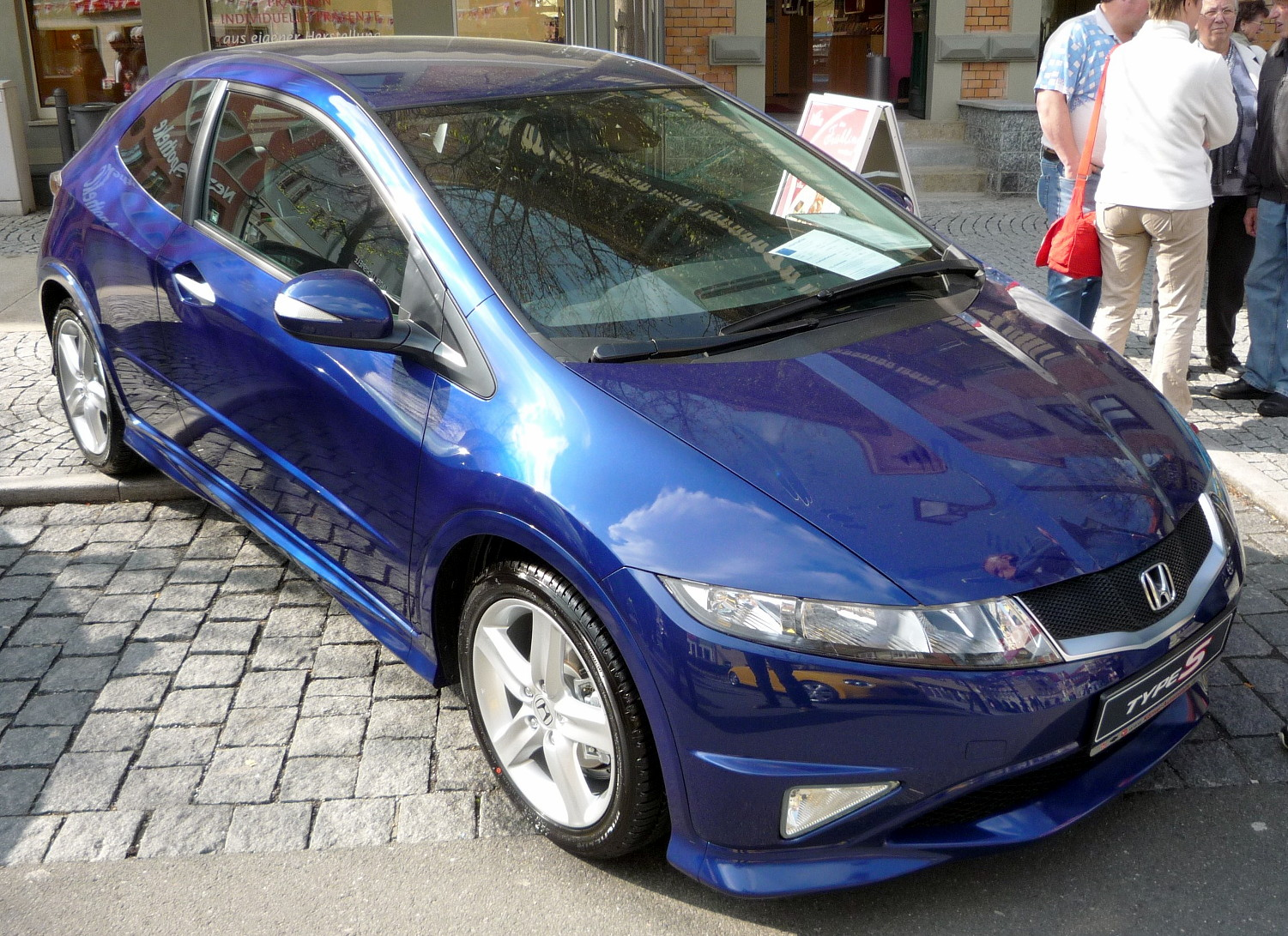 file honda civic type s sapphireblue facelift jpg. Black Bedroom Furniture Sets. Home Design Ideas