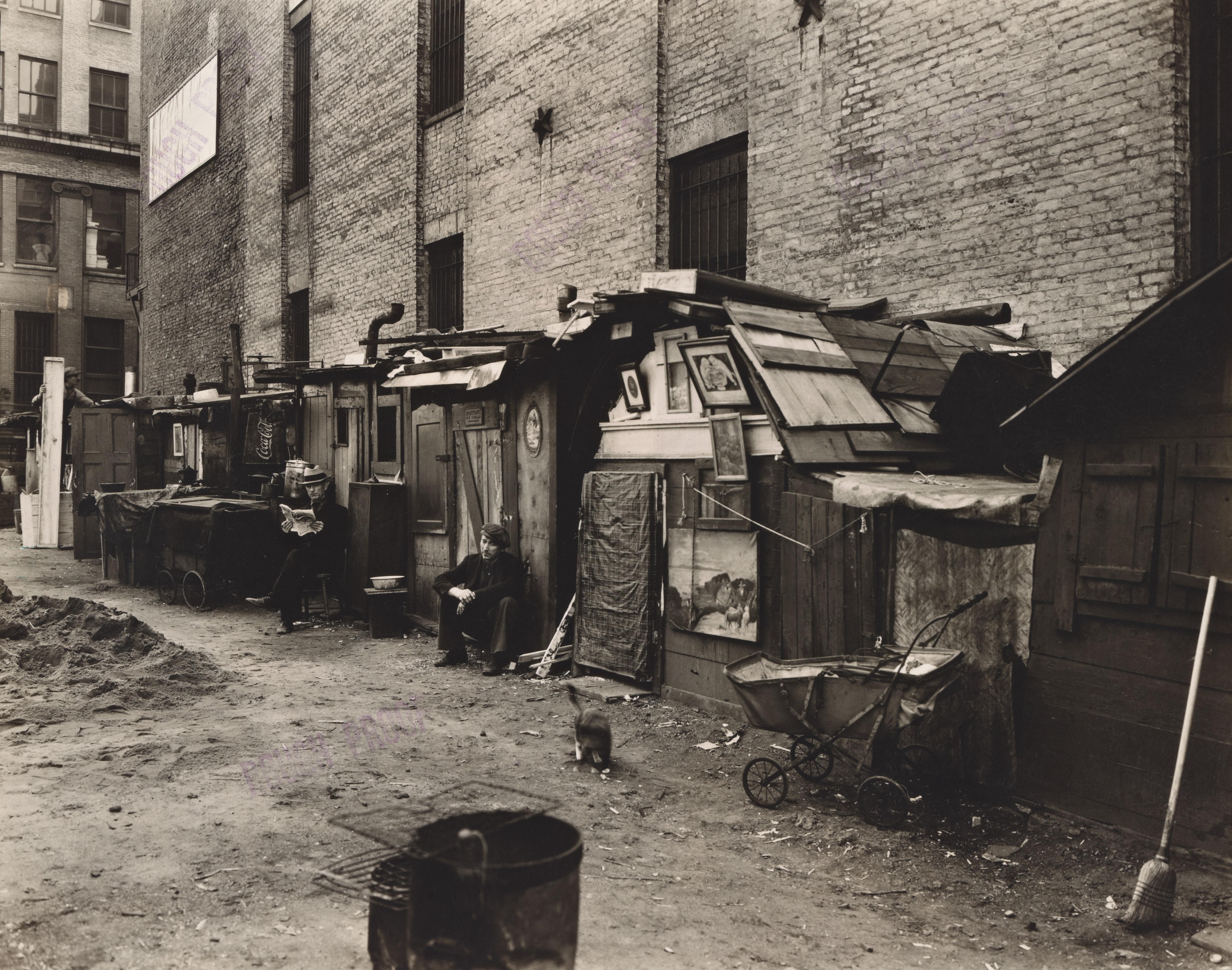utsandunemployedmenineworkity,1935