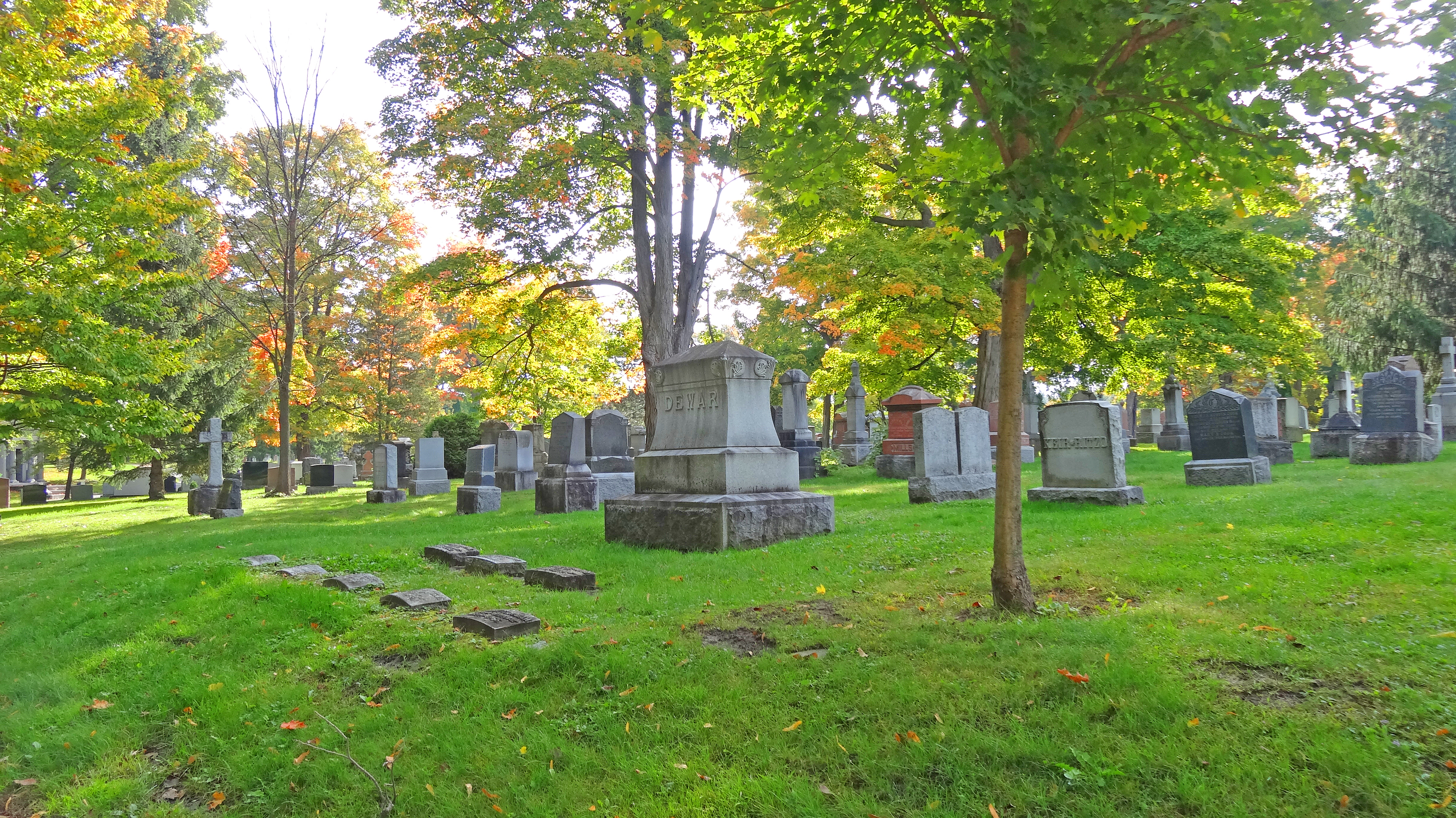 file in beechwood cemetery here the dead sleep the quiet dead no