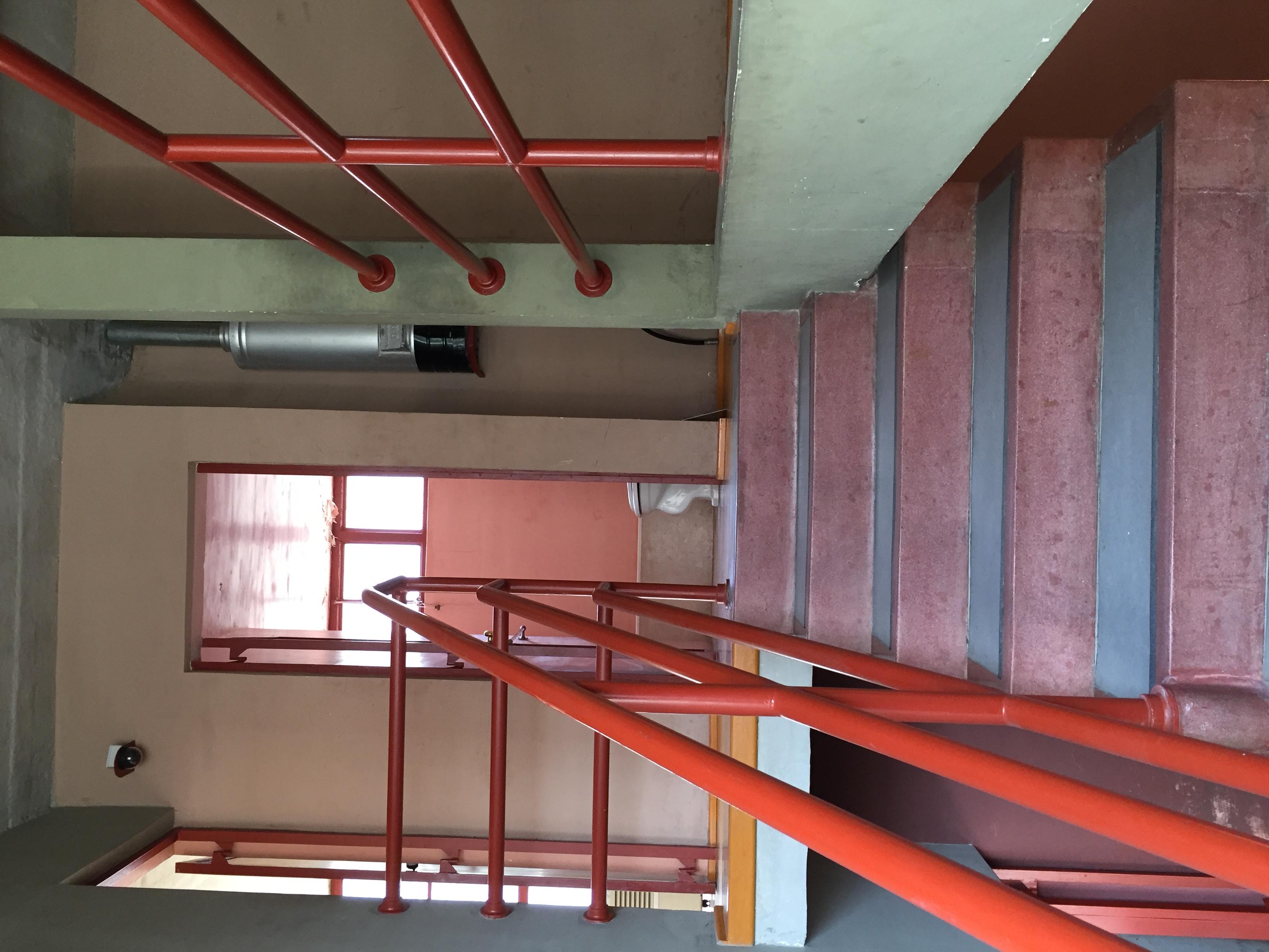 Archivo interior de la casa juan o 39 gorman jpg wikipedia for Tipos de escaleras para casa habitacion