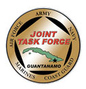 The crest/seal Joint Task Force Guantanamo. So...