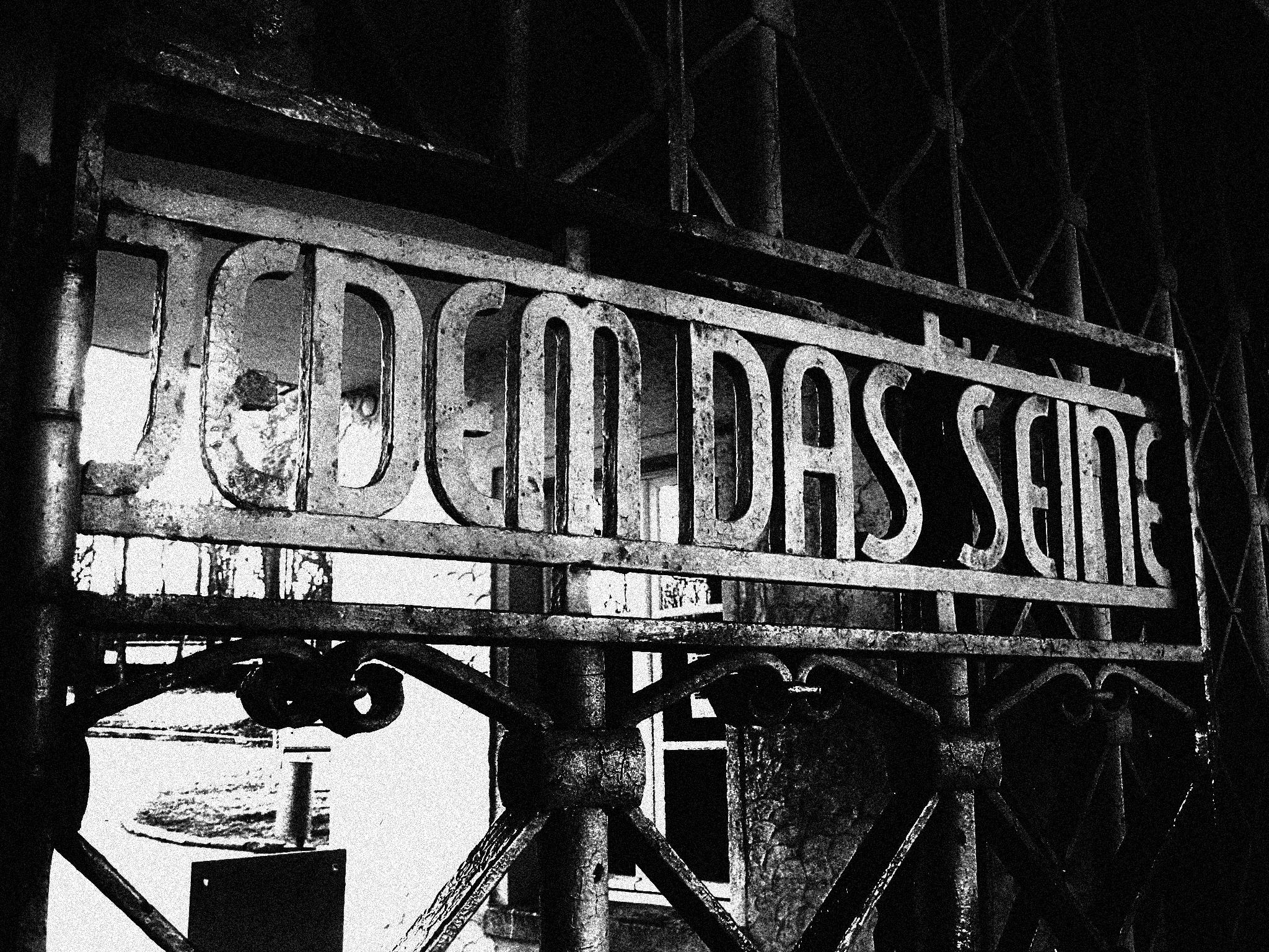 Buchenwald entrance