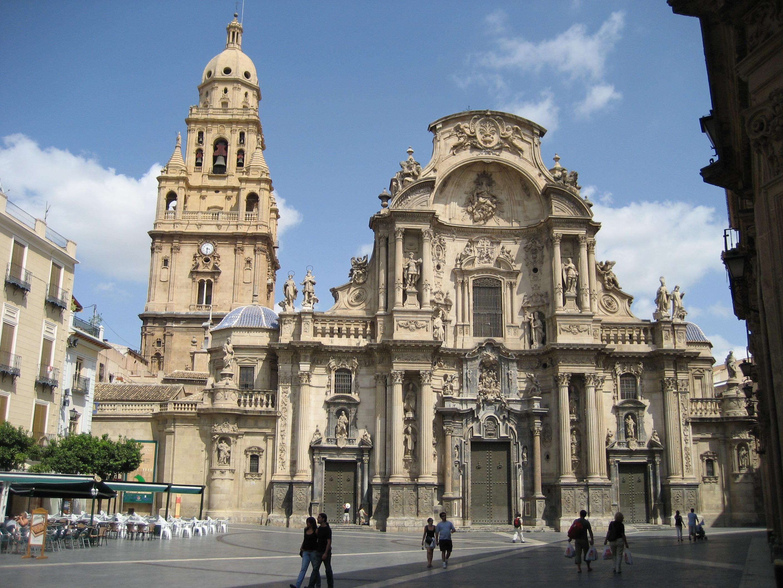 file kathedrale murcia spanien jpg wikimedia commons On arquitectura del barroco