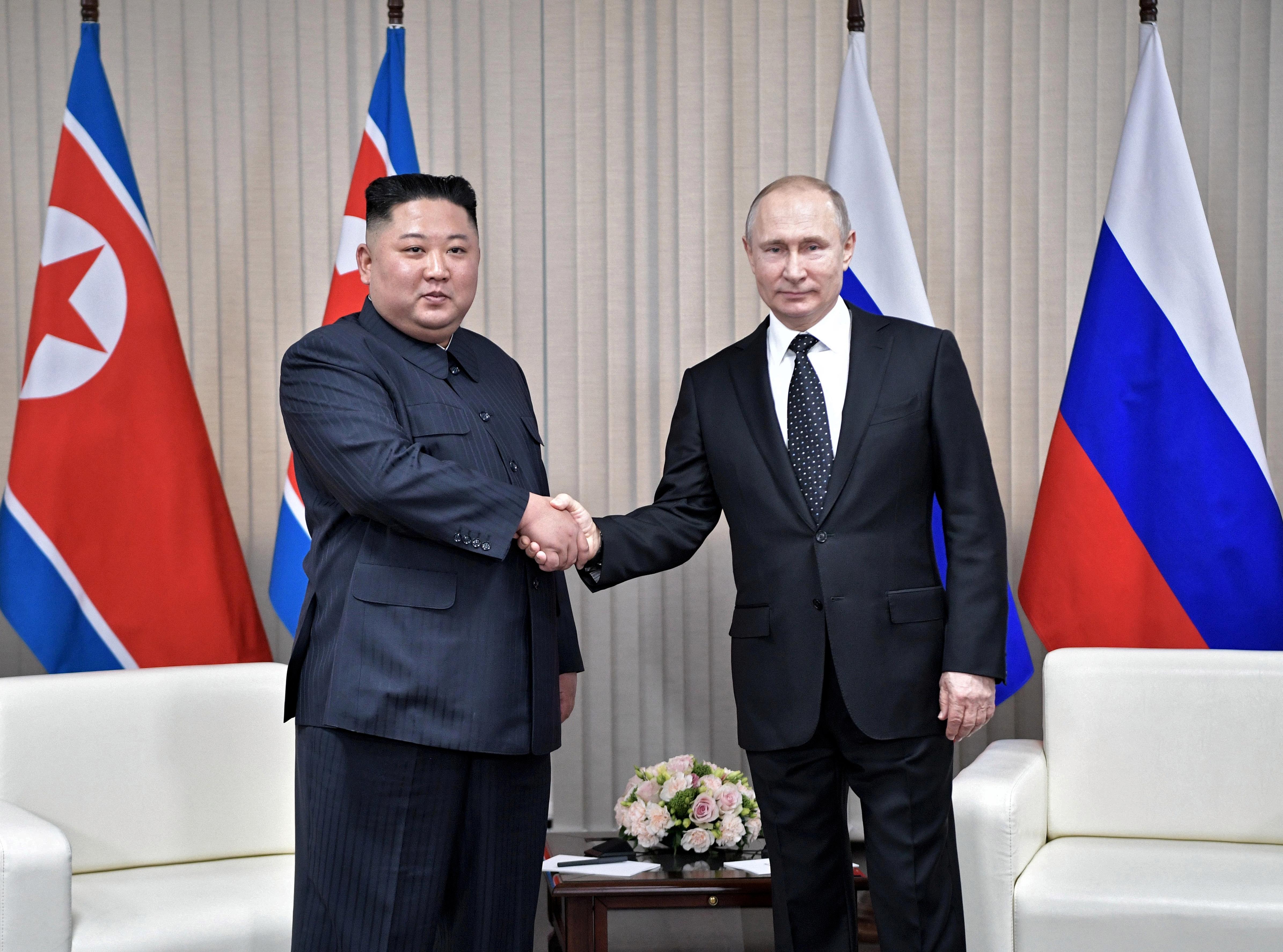 Corea del Norte y Rusia