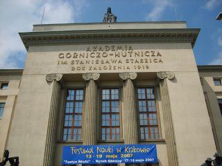 Akademia Górniczo-Hutnicza im. Stanisława Staszica w Krakowie. Fot. Wikimedia Commons, autor: Nazin, lic. CC BY-SA 2.5.