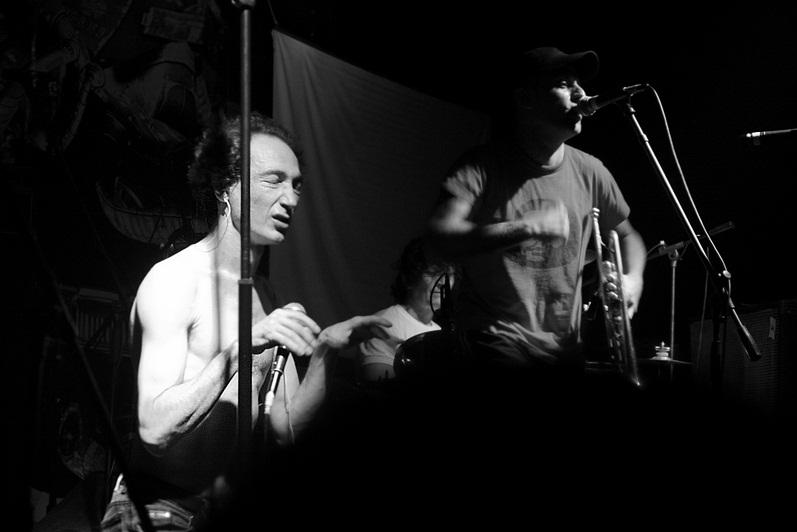 Las Manos de Filippi durante un concierto en Montevideo, en el año 2007.