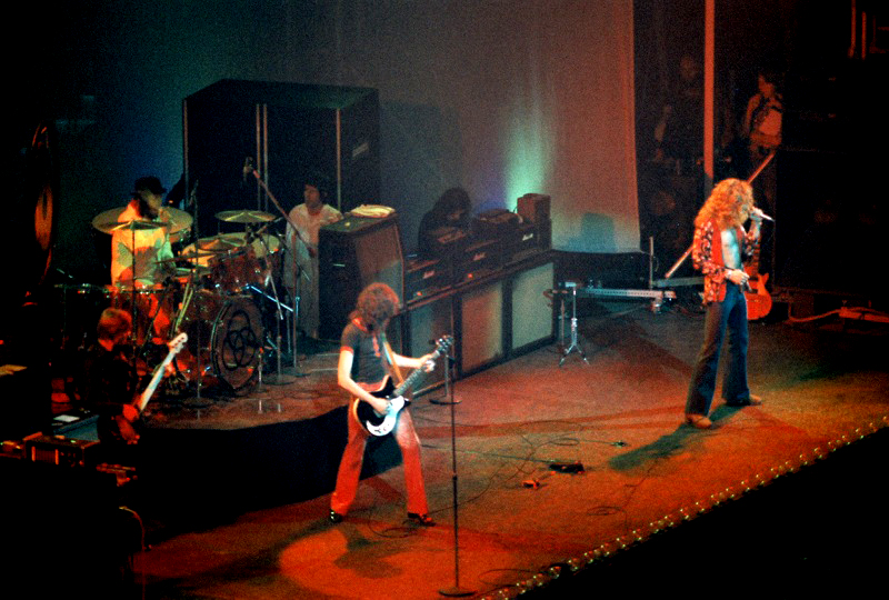Led Zeppelin Disbands This Day 1980 Slicethelife
