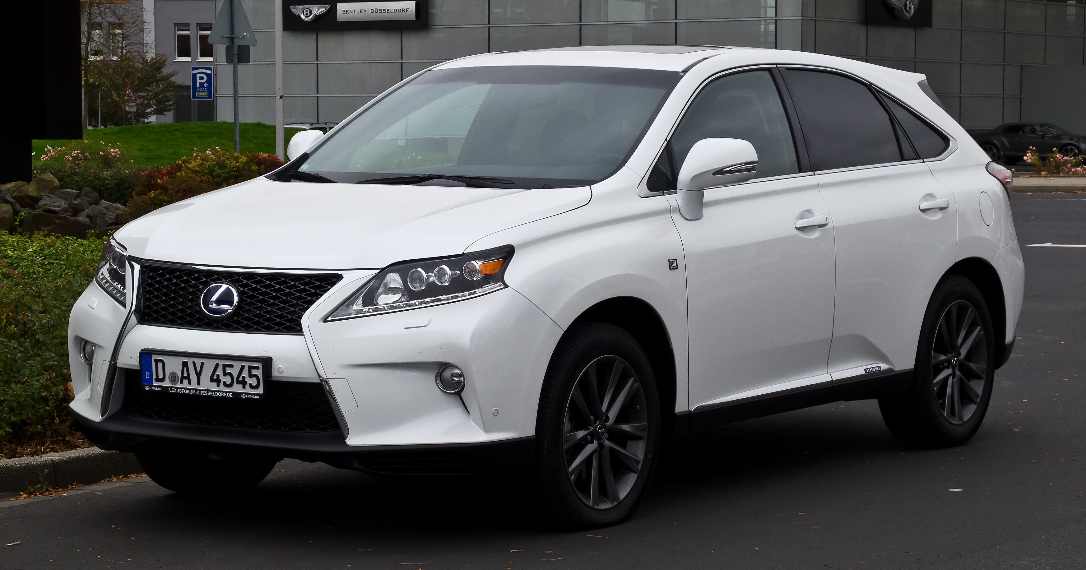 File Lexus Rx 450h F Sport Iii Facelift Frontansicht
