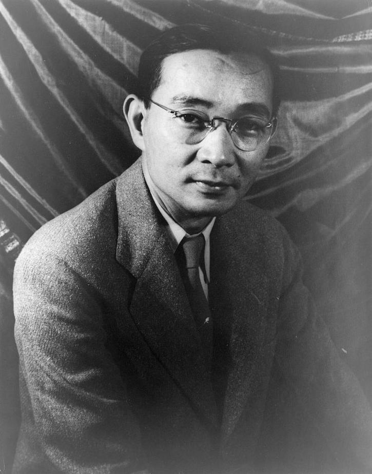 Portrait of Lin Yutang