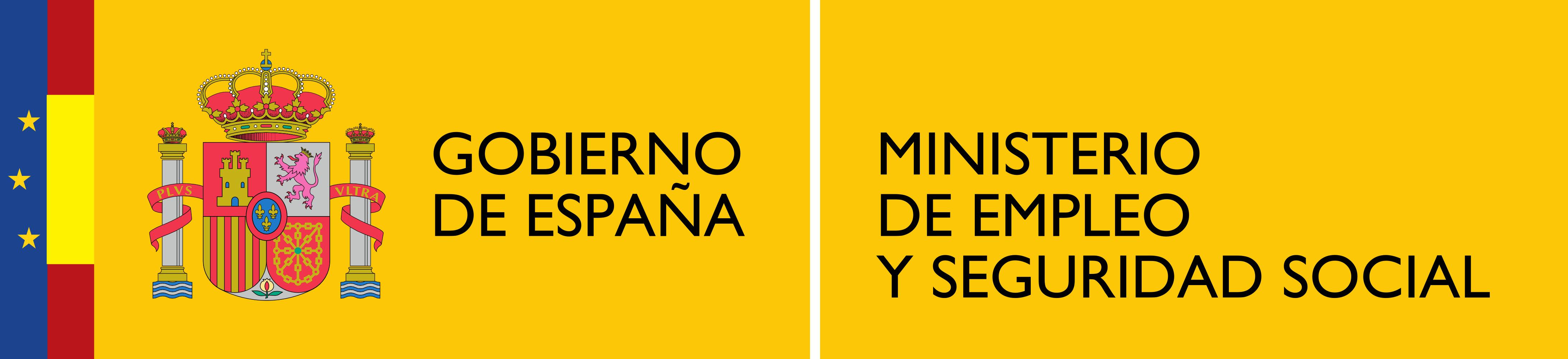 Description Logotipo del Ministerio de Empleo y Seguridad Social.png