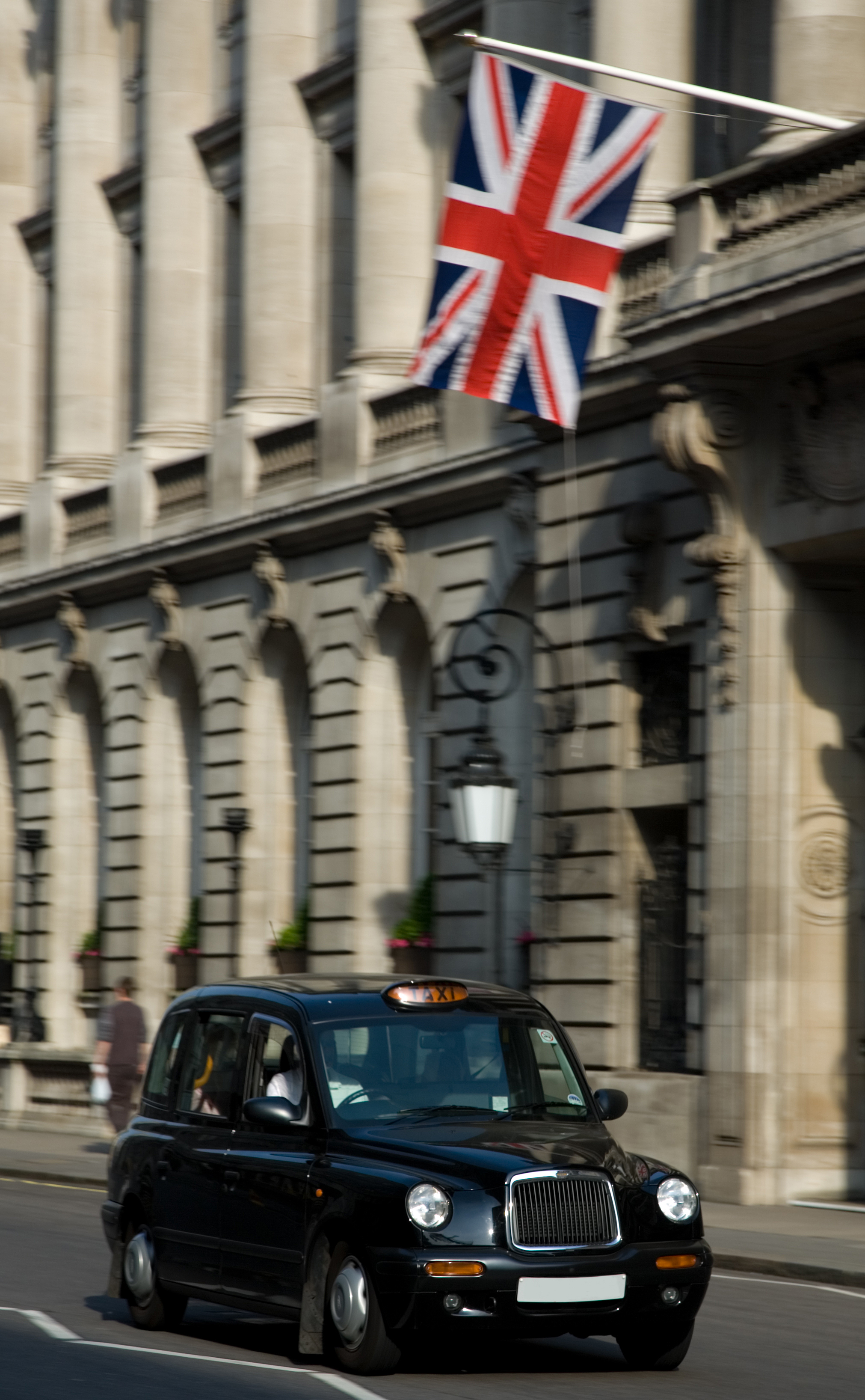 London Black Cab - electric taxi