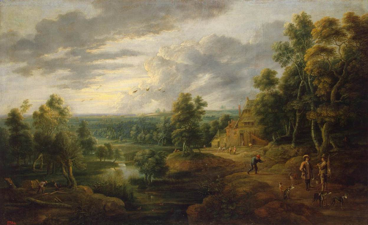 Famous Paintings Hunting Dutch