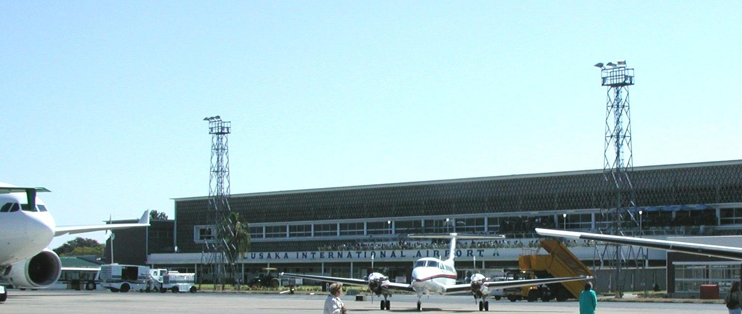 Аэропорт Лусака (Lusaka International Airport).2