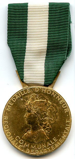 Medaille D Honneur Regionale Departementale Et Communale Wikipedia