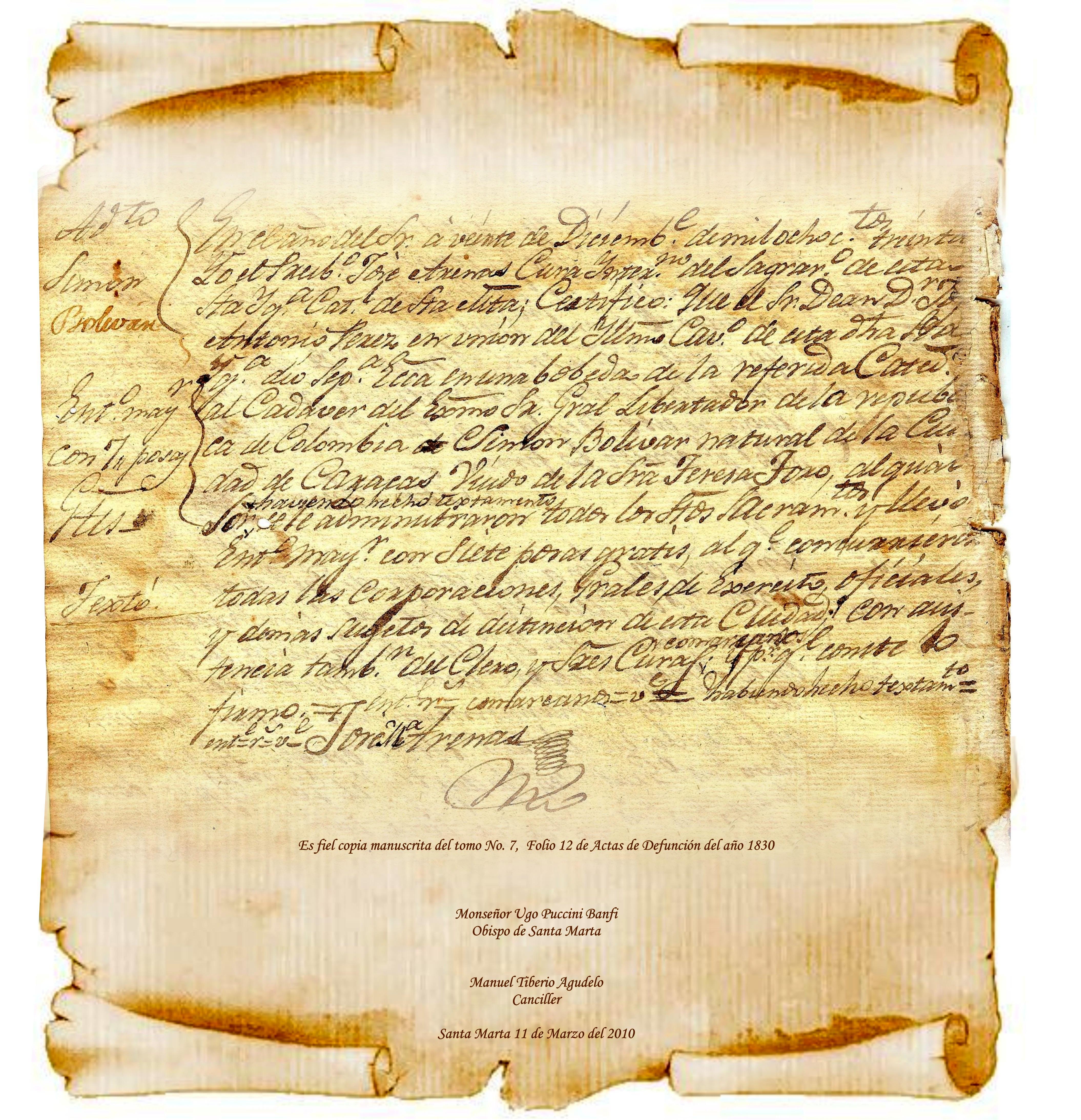 an introduction to the life of simon jose antonio de la santisima trinidad bolivar Simon jose antonio de la santissima trinidad bolivar y palacios (247 1783 - 1712 1830) je južnoamerički vojskovođa, državnik i revolucionar bolivar je rođen u venezueli, u španskoj aristokratskoj familijinakon napoloenove invazije španije bolivar se priključio lokalnim huntama koje su to nastojale iskoristiti da proglase nezavisnost od matice zemlje.