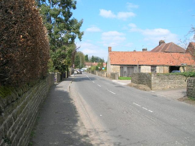 Main Street, Papplewick - geograph.org.uk - 1829235