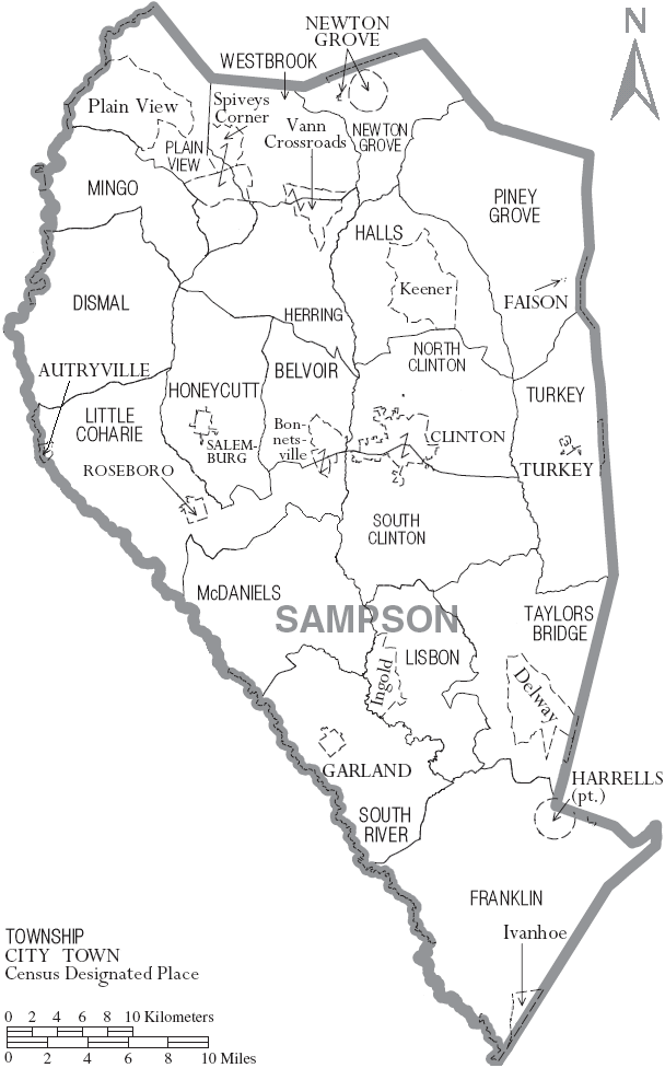 Sampson County, North Carolina - Wikipedia, the free encyclopediasampson county