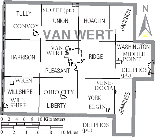 Van Wert County Ohio Property Search