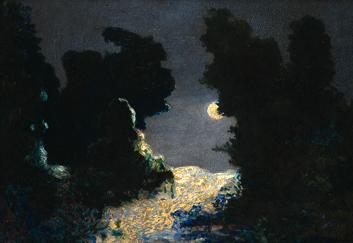 Archivo: Martín Malharro - Nocturno, 1909.jpg