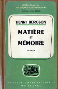 Matter and Memory cover