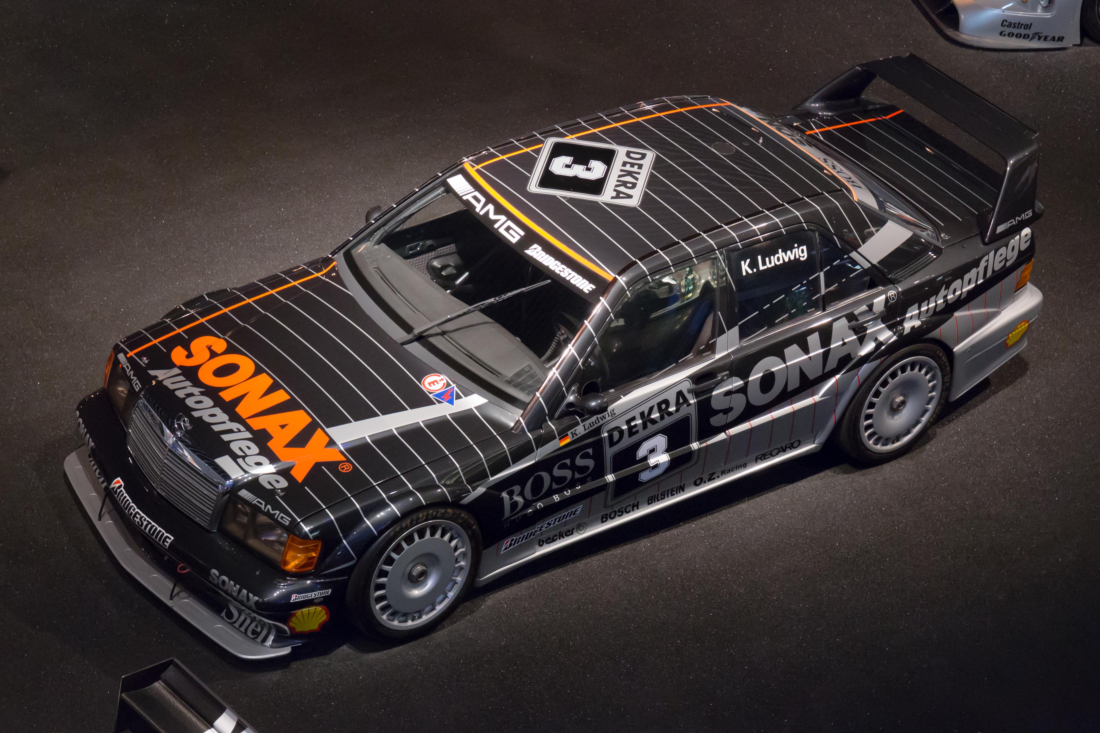 File:Mercedes-Benz 190E Evolution II DTM top Mercedes-Benz ...