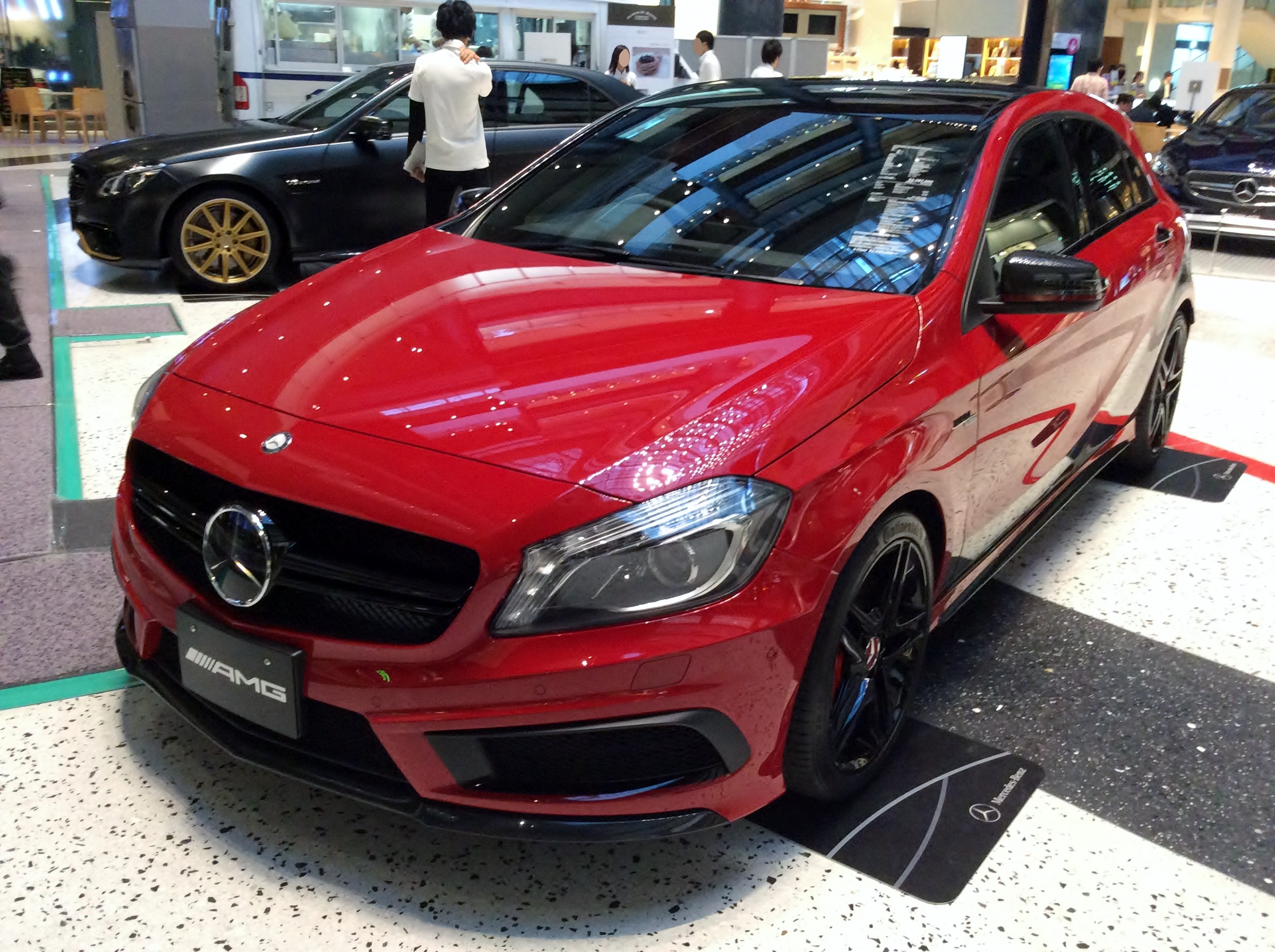 File Mercedes Benz A45 Amg 4matic Performance Studio Special W176