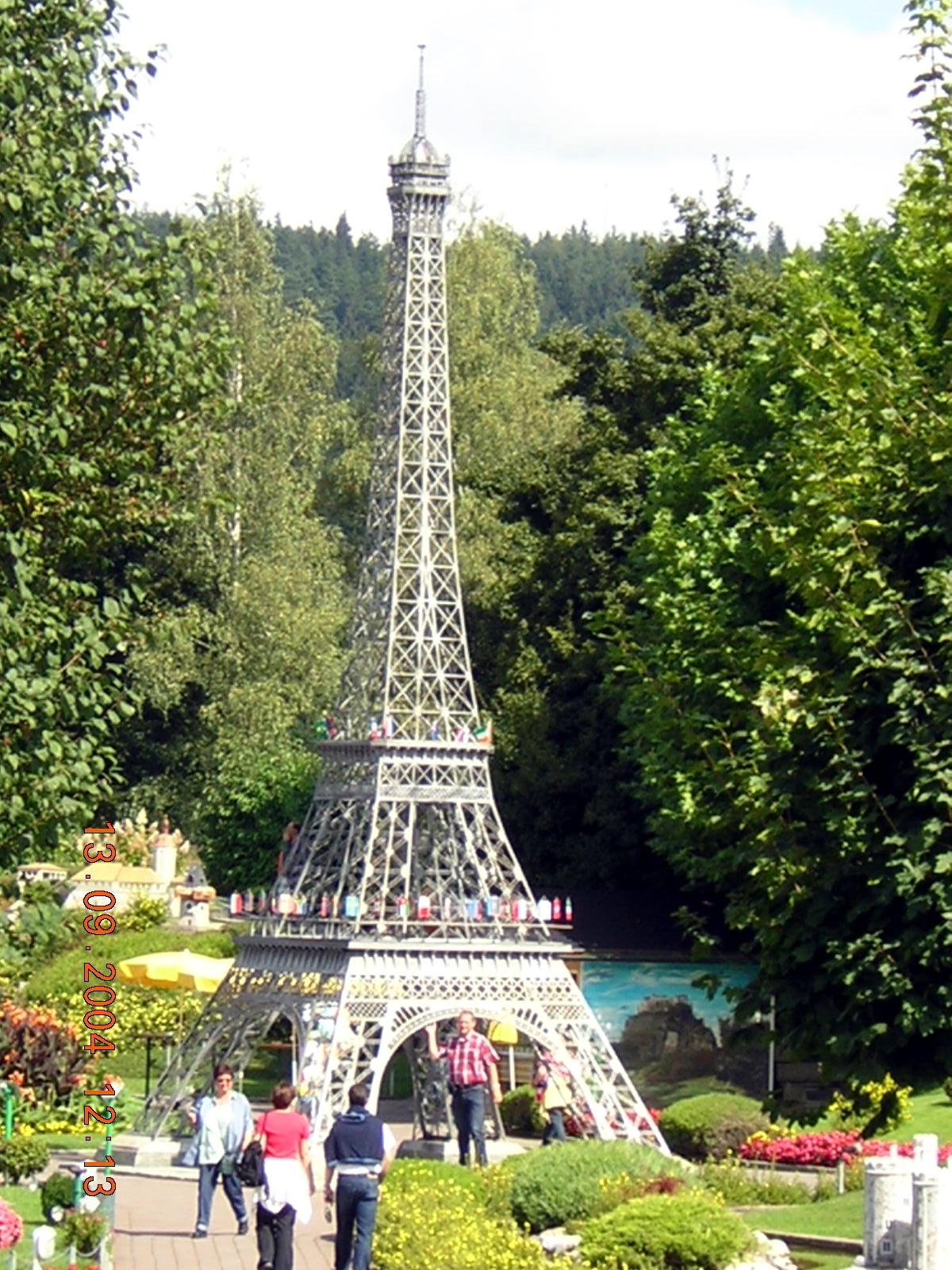 File:Minimundus - Eiffel torony (Franciaország, Párizs ...