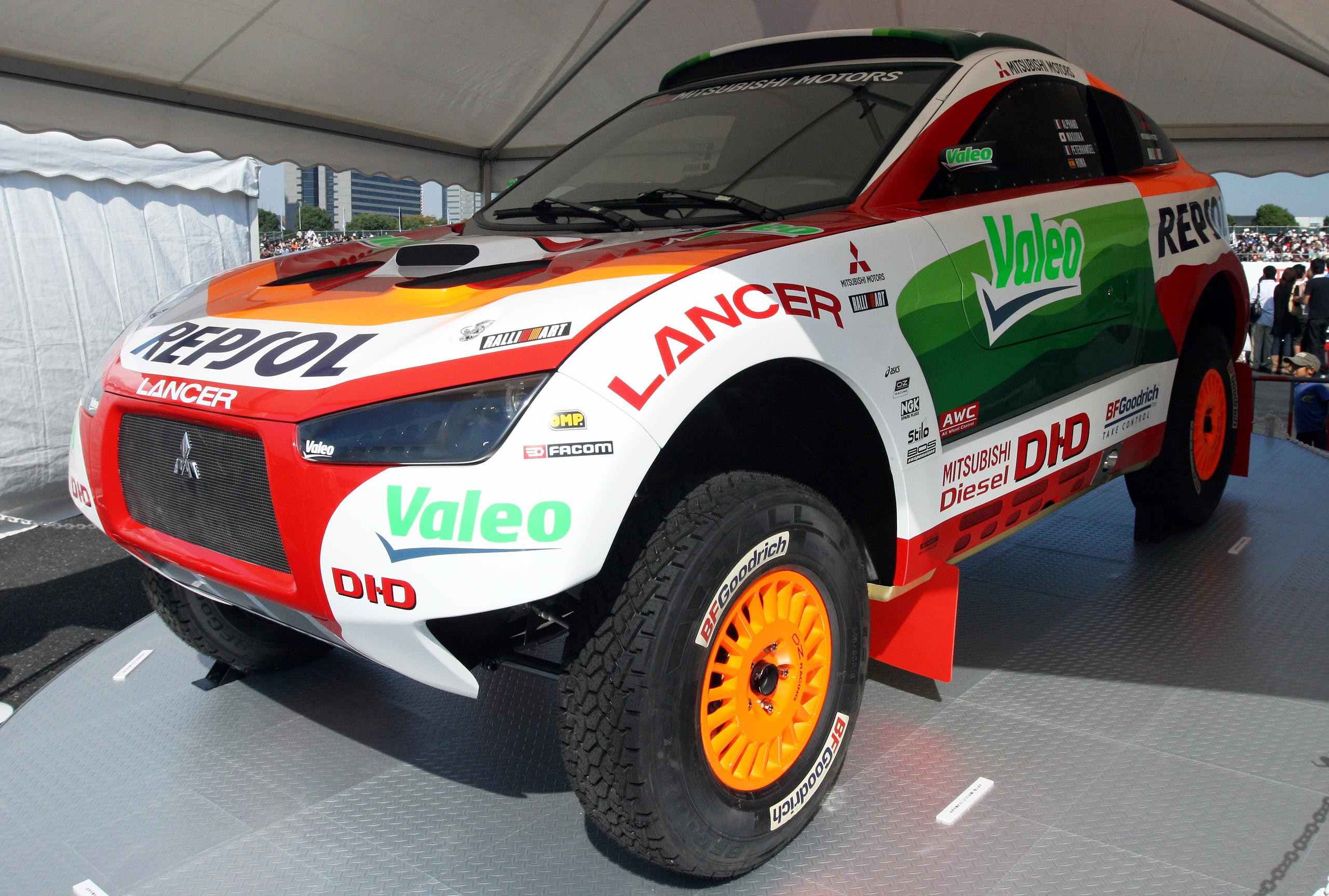 Outlander Sport Race Car