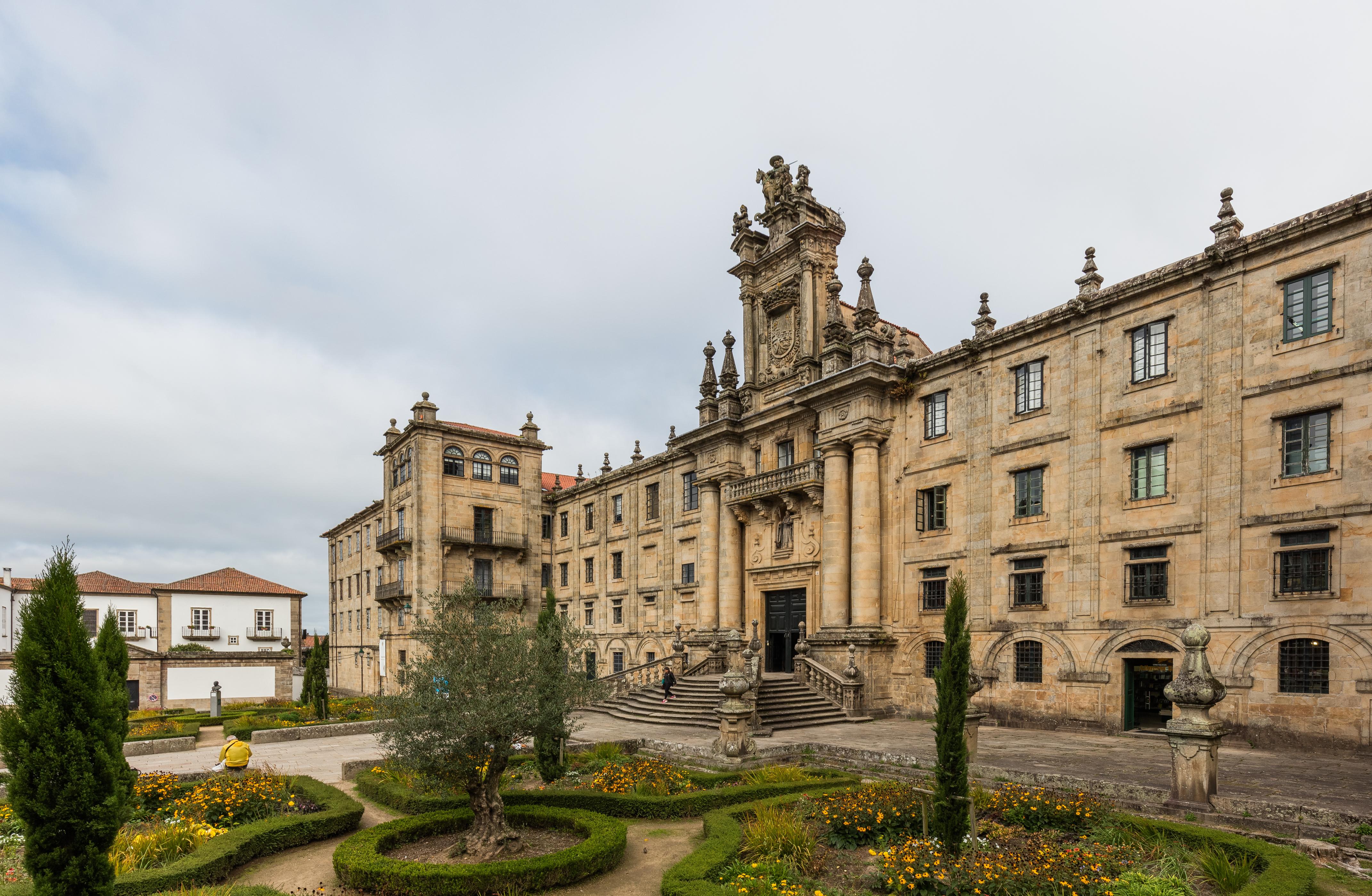 Monasterio de San Martín Pinario - Wikipedia, la enciclopedia libre